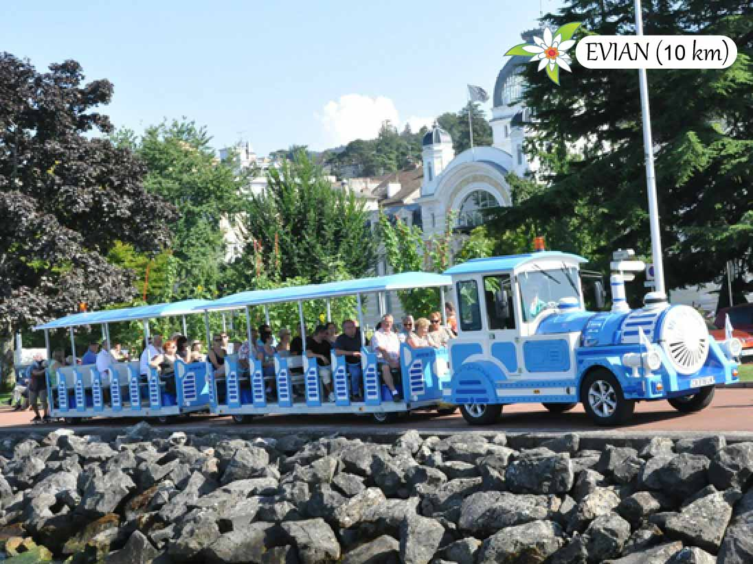 Visite d'Evian en petit train